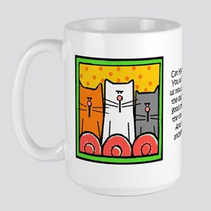 Cat Hypnosis Large Mug