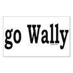 go Wally Rectangle Sticker