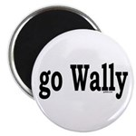"""go Wally 2.25"""" Magnet (100 pack)"""