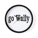 go Wally Wall Clock