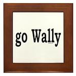 go Wally Framed Tile