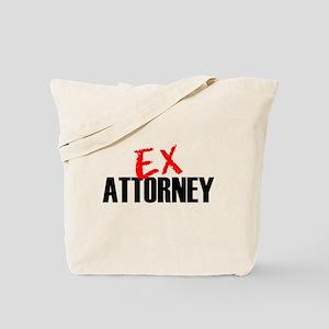 Ex Attorney Tote Bag