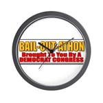 Bail-Out-Athon Wall Clock