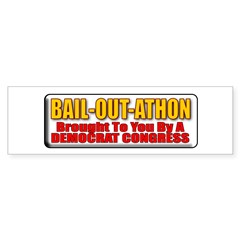 Bail-Out-Athon Bumper Sticker (10 pk)