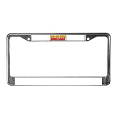 Bail-Out-Athon License Plate Frame