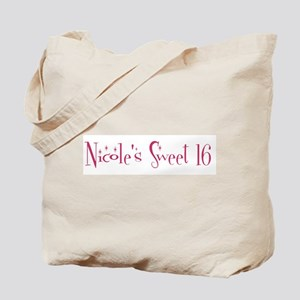 Nicole's Sweet 16 Tote Bag