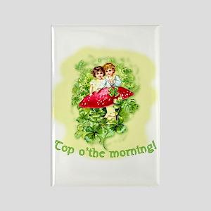 Top O'the Morning Vintage Irish Rectangle Magnet
