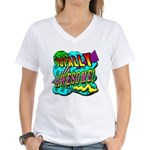 Totally Awesome! Women's V-Neck T-Shirt