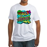 Totally Awesome! Fitted T-Shirt
