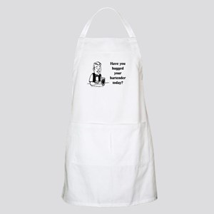 Bartender Hug BBQ Apron