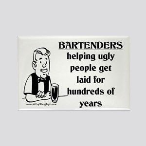 Bartenders Laid Rectangle Magnet