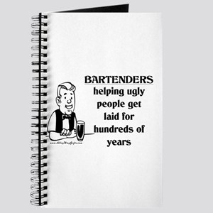 Bartenders Laid Journal