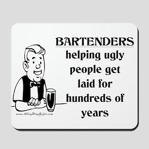 Bartenders Laid Mousepad