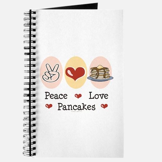 Peace Love Pancakes Journal