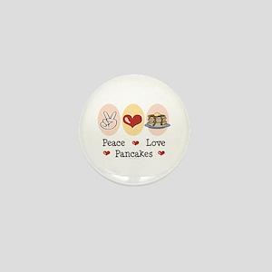 Peace Love Pancakes Mini Button