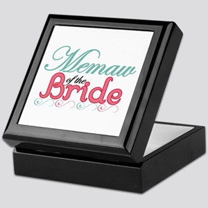 Memaw of the Bride Keepsake Box