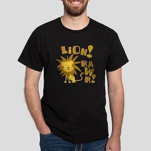 Lion Rawr Dark T-Shirt
