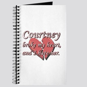 Courtney broke my heart and I hate her Journal