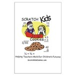 Scratch Kids Posters and Gift Large Poster