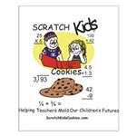 Scratch Kids Posters and Gift Small Poster