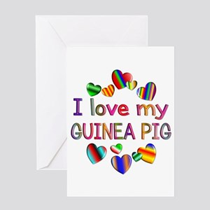 Guinea Pig Greeting Card
