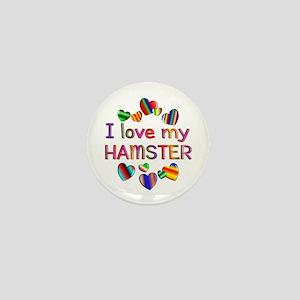 Hamster Mini Button