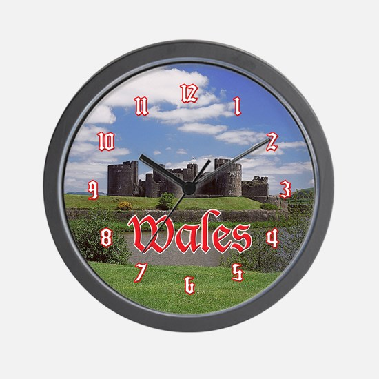 Caerphilly Castle Wall Clock
