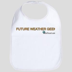 """""""Future Weather Geek"""" Bib"""