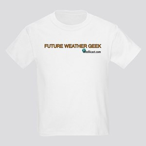 Future Weather Geek Kids T-Shirt