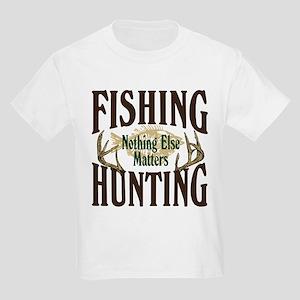 Fishing Hunting Nothing Else Matters Kids Light T-