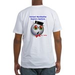 Mr. Mallow Fitted T-Shirt
