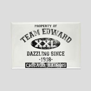 Property of Team Edward Rectangle Magnet