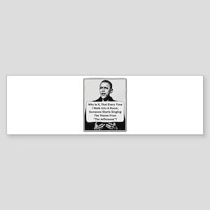 Obama - Jefferson's Theme Bumper Sticker