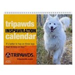Tripawds Wall Calendar #25 - New For 2019