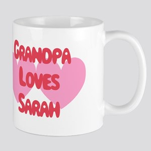 Grandpa Loves Sarah Mug