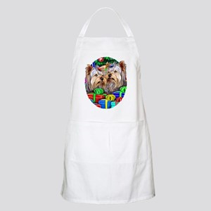 Yorkshire Terrier Open Gifts BBQ Apron