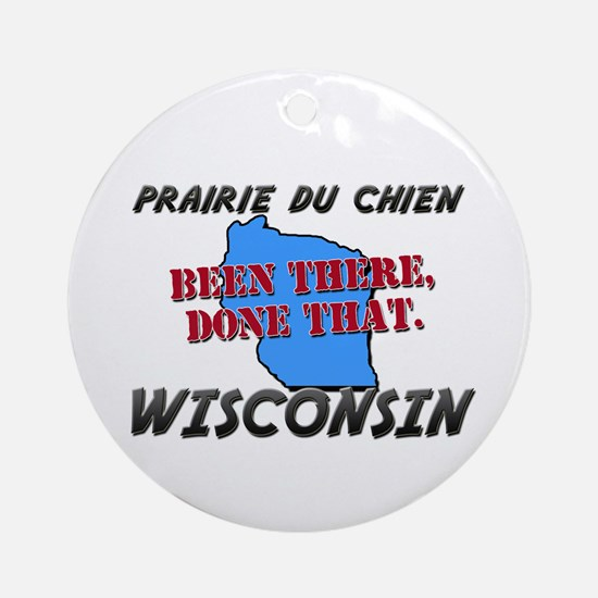 prairie du chien wisconsin - been there, done that