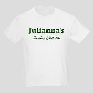 Juliannas Lucky Charm Kids Light T-Shirt