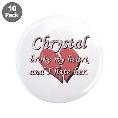 Chrystal broke my heart and I hate her 3.5