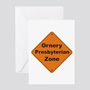 Presbyterian / Ornery Greeting Card