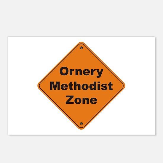 Methodist / Ornery Postcards (Package of 8)