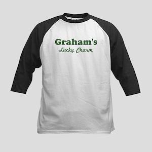 Grahams Lucky Charm Kids Baseball Jersey