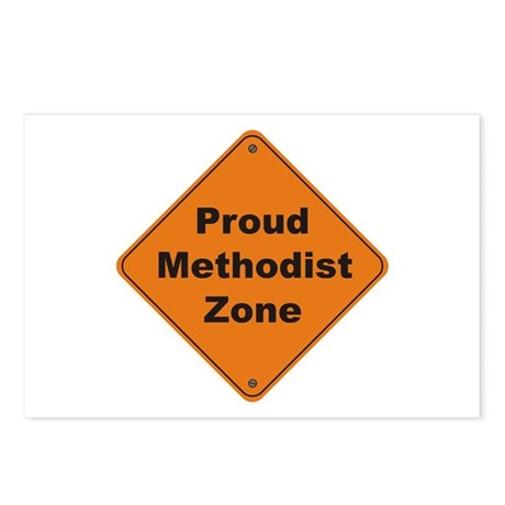 Methodist Zone Postcards (Package of 8)