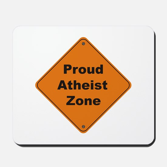 Atheist Zone Mousepad