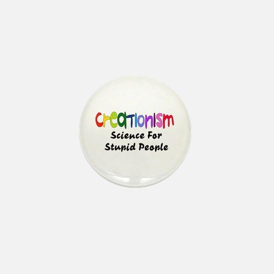 Anti-Creationism Mini Button