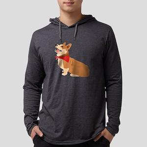 Corgi Dog Long Sleeve T-Shirt