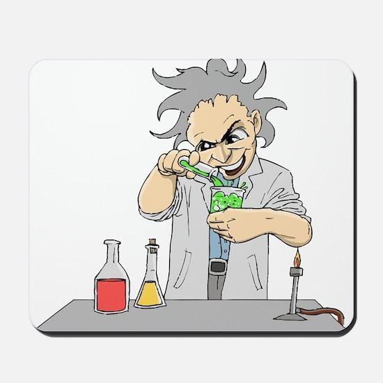 Mad Scientist Mousepad