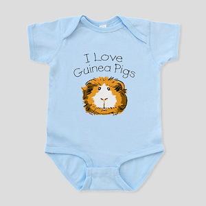 I love guinea pigs Infant Creeper