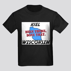 kiel wisconsin - been there, done that Kids Dark T