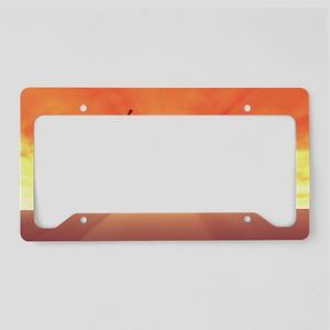 Summer Break School Holidays License Plate Holder